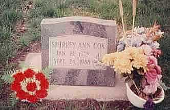 COX, SHIRLEY - Dallas County, Iowa | SHIRLEY COX