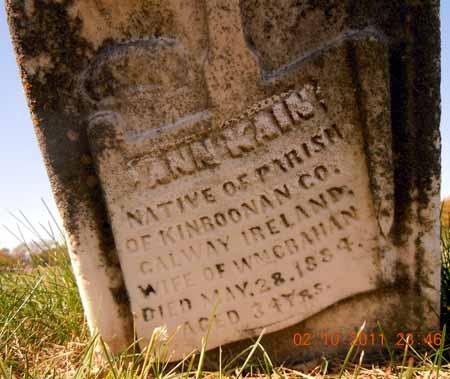 KAIN CRAHAN, ANN - Dallas County, Iowa | ANN KAIN CRAHAN