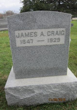 CRAIG, JAMES A - Dallas County, Iowa | JAMES A CRAIG