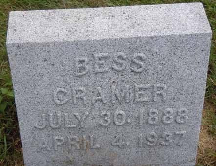 CRAMER, BESS - Dallas County, Iowa | BESS CRAMER