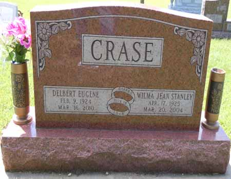 STANLEY CRASE, WILMA JEAN - Dallas County, Iowa   WILMA JEAN STANLEY CRASE