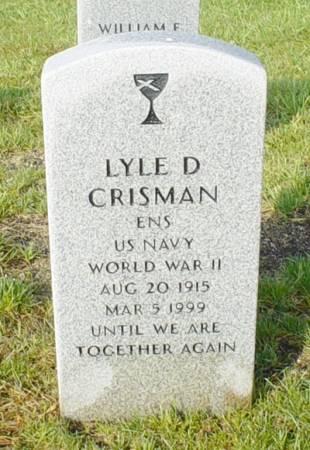 CRISMAN, LYLE D. - Dallas County, Iowa | LYLE D. CRISMAN
