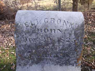 CRONK, ELI - Dallas County, Iowa   ELI CRONK