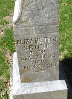 CRONK, ELIZABETH J - Dallas County, Iowa | ELIZABETH J CRONK
