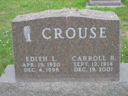CROUSE, EDITH L. - Dallas County, Iowa   EDITH L. CROUSE