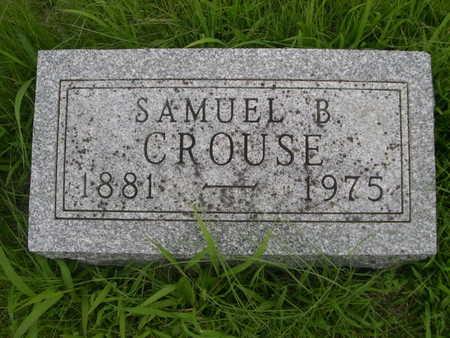 CROUSE, SAMUEL B. - Dallas County, Iowa | SAMUEL B. CROUSE