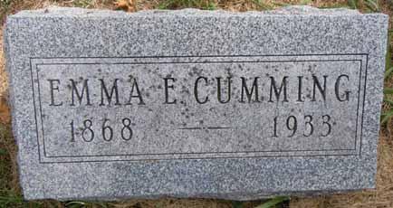 CUMMING, EMMA E - Dallas County, Iowa | EMMA E CUMMING