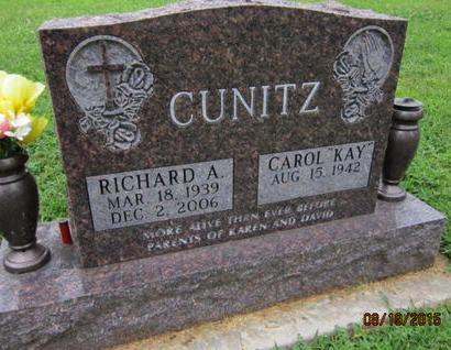 CUNITZ, RICHARD A - Dallas County, Iowa | RICHARD A CUNITZ