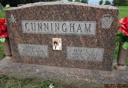 CUNNINGHAM, HAZEL J - Dallas County, Iowa | HAZEL J CUNNINGHAM
