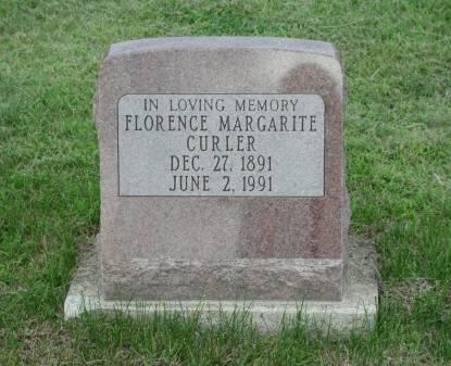 CURLER, FLORENCE MARGARITE FRANTZ - Dallas County, Iowa | FLORENCE MARGARITE FRANTZ CURLER