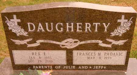 DAUGHERTY, REX E. - Dallas County, Iowa   REX E. DAUGHERTY
