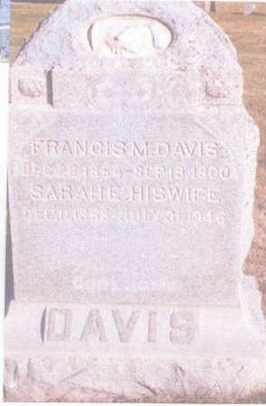 DAVIS, FRANCIS M. - Dallas County, Iowa | FRANCIS M. DAVIS