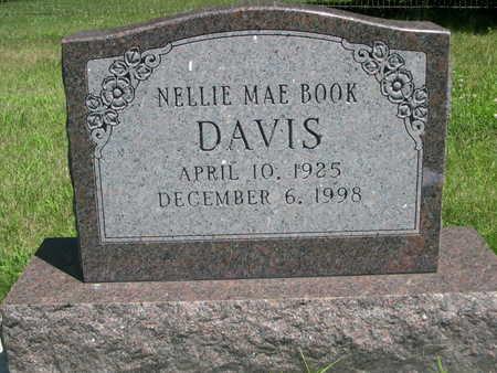 BOOK DAVIS, NELLIE MAE - Dallas County, Iowa | NELLIE MAE BOOK DAVIS