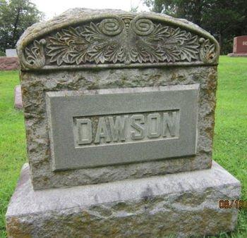 DAWSON, FAMILY STONE - Dallas County, Iowa | FAMILY STONE DAWSON