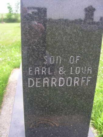 DEARDORF, SON - Dallas County, Iowa   SON DEARDORF