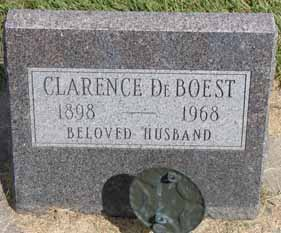 DEBOEST, CLARENCE - Dallas County, Iowa   CLARENCE DEBOEST