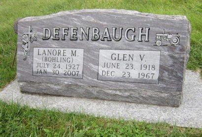 BOHLING DEFENBAUGH, LANORE M - Dallas County, Iowa | LANORE M BOHLING DEFENBAUGH
