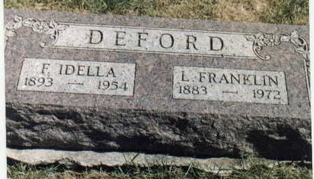 DEFORD, L. FRANKLIN - Dallas County, Iowa | L. FRANKLIN DEFORD