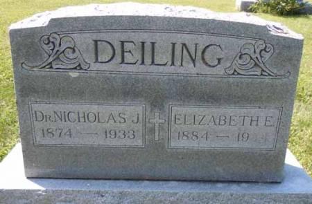 DEILING, NICHOLAS J, DR - Dallas County, Iowa | NICHOLAS J, DR DEILING