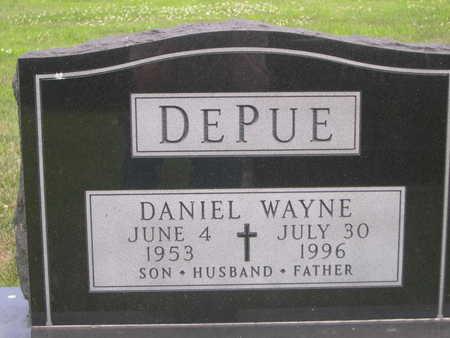 DEPUE, DANIEL WAYNE - Dallas County, Iowa | DANIEL WAYNE DEPUE