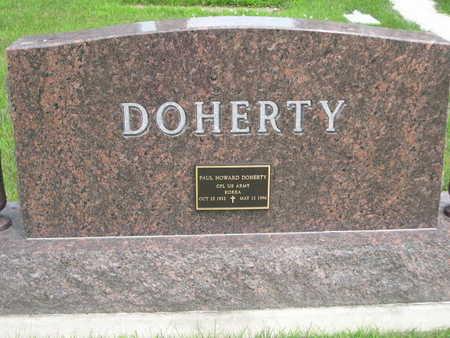 DOHERTY, PAUL HOWARD - Dallas County, Iowa   PAUL HOWARD DOHERTY
