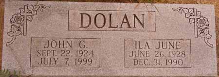 DOLAN, ILA JUNE - Dallas County, Iowa | ILA JUNE DOLAN