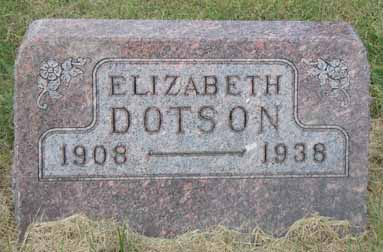 DOTSON, ELIZABETH - Dallas County, Iowa | ELIZABETH DOTSON