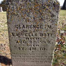DOTY, CLARENCE M - Dallas County, Iowa | CLARENCE M DOTY