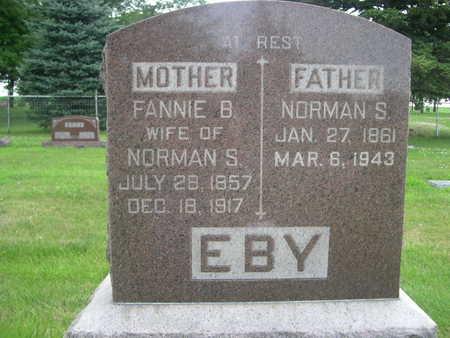 EBY, FANNIE B. - Dallas County, Iowa | FANNIE B. EBY