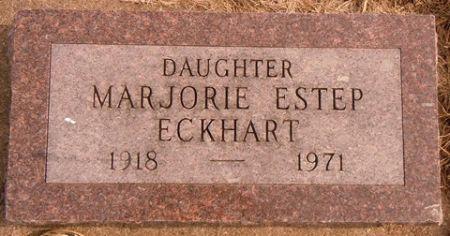 ESTEP ECKHART, MARJORIE - Dallas County, Iowa   MARJORIE ESTEP ECKHART