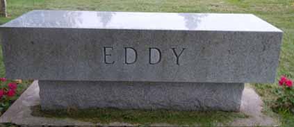 EDDY, FAMILY STONE - Dallas County, Iowa | FAMILY STONE EDDY