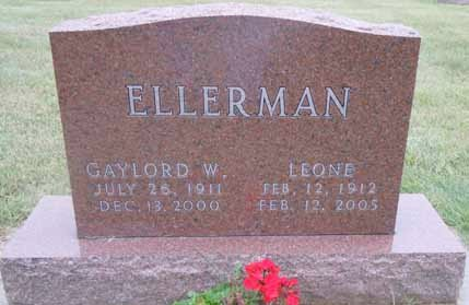 ELLERMAN, LEONE - Dallas County, Iowa   LEONE ELLERMAN