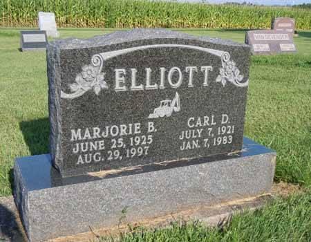 ELLIOTT, MARJORIE B - Dallas County, Iowa   MARJORIE B ELLIOTT