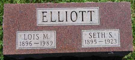 ELLIOTT, SETH S - Dallas County, Iowa | SETH S ELLIOTT
