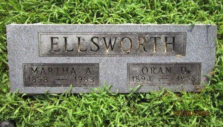 ELLSWORTH, ORAN D - Dallas County, Iowa   ORAN D ELLSWORTH