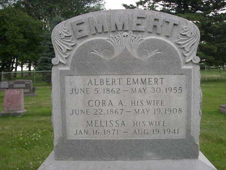 EMMERT, CORA A - Dallas County, Iowa | CORA A EMMERT