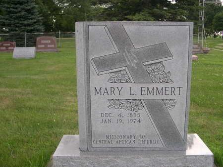 EMMERT, MARY L. - Dallas County, Iowa   MARY L. EMMERT