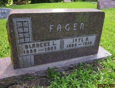 FAGEN, BLANCHE L - Dallas County, Iowa | BLANCHE L FAGEN