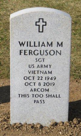 FERGUSON, WILLIAM M - Dallas County, Iowa   WILLIAM M FERGUSON