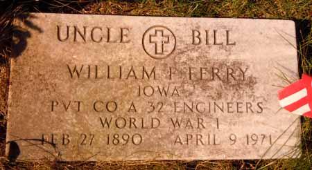 FERRY, WILLIAM F. - Dallas County, Iowa | WILLIAM F. FERRY