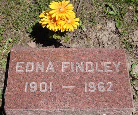 FINDLEY, EDNA - Dallas County, Iowa   EDNA FINDLEY