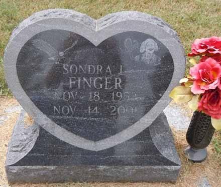 FINGER, SONDRA I - Dallas County, Iowa   SONDRA I FINGER