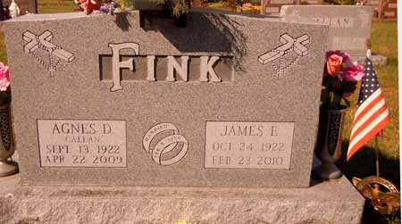 FINK, JAMES E. - Dallas County, Iowa   JAMES E. FINK