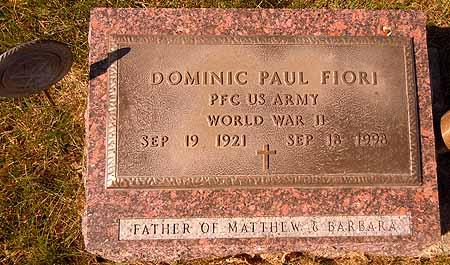 FIORI, DOMINIC PAUL - Dallas County, Iowa | DOMINIC PAUL FIORI