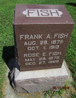 FISH, ROSE E - Dallas County, Iowa   ROSE E FISH