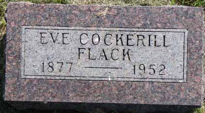 COCKERILL FLACK, EVE - Dallas County, Iowa | EVE COCKERILL FLACK