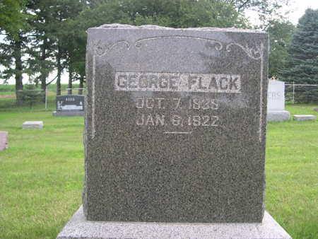 FLACK, GEORGE - Dallas County, Iowa   GEORGE FLACK