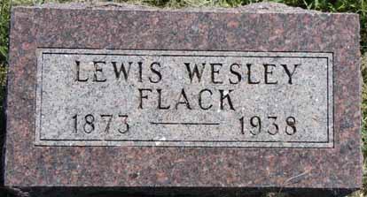FLACK, LEWIS WESLEY - Dallas County, Iowa | LEWIS WESLEY FLACK