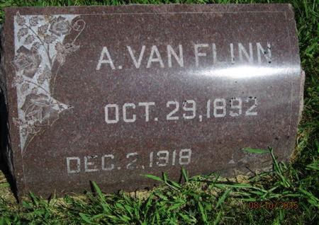 FLINN, A VAN - Dallas County, Iowa   A VAN FLINN