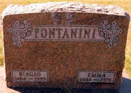 FONTANINI, EMMA - Dallas County, Iowa   EMMA FONTANINI